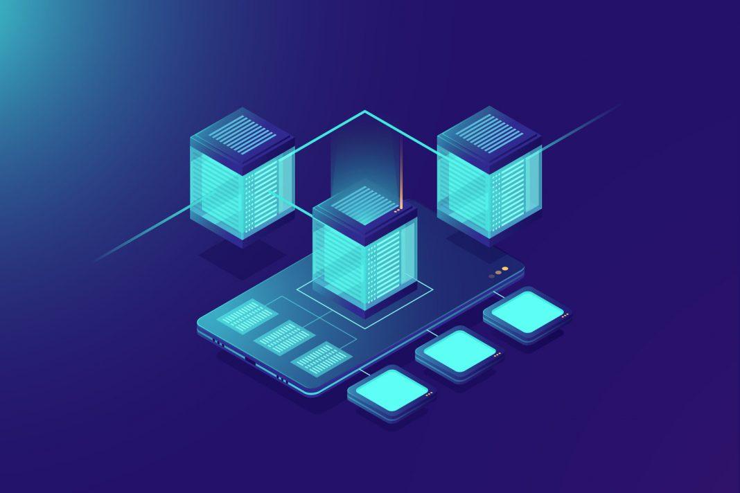 Cloud software infrastructure schematic