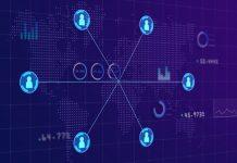 A simplified blockchain concept art