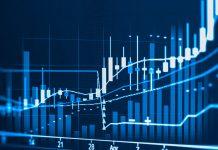 A bittrex-blue coloured price chart