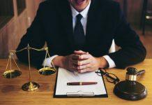 A lawyer's desk