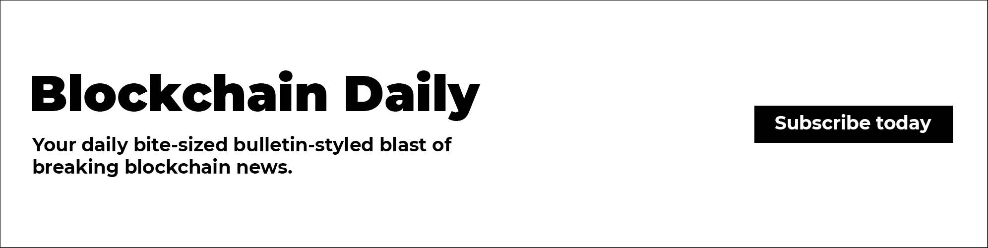 Blockchain Daily