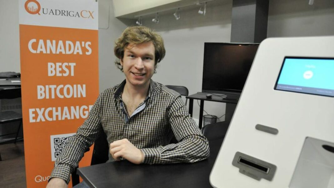 CEO of the QuadrigaCX exchange, Geral Cotten