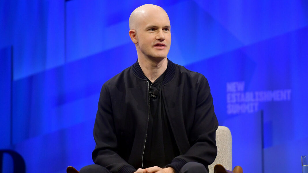 Coinbase CEO Brian Armstrong at Vanity Fair's New Establishment Summit, talking about the future of crypto and Facebook's Libra