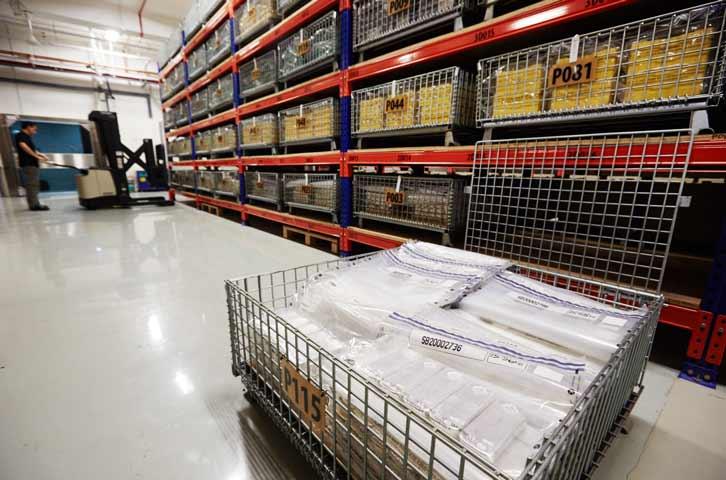 Singapore-based The Safe House gold bullion storage center