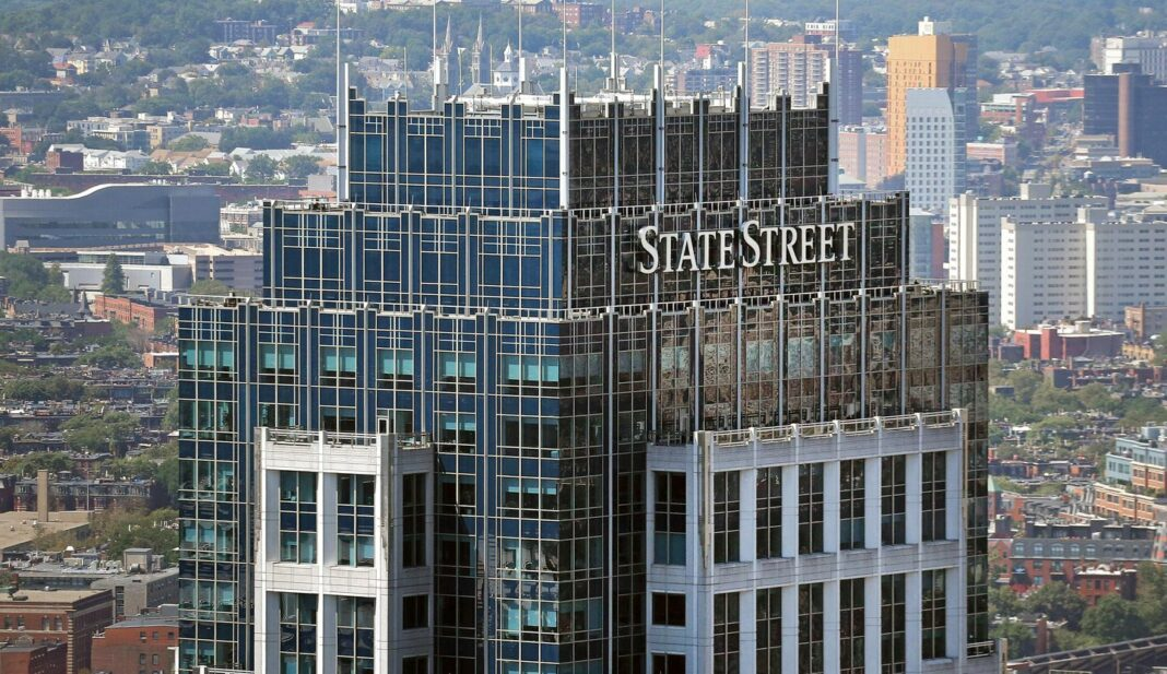 State Street Corporation headquarters in Boston
