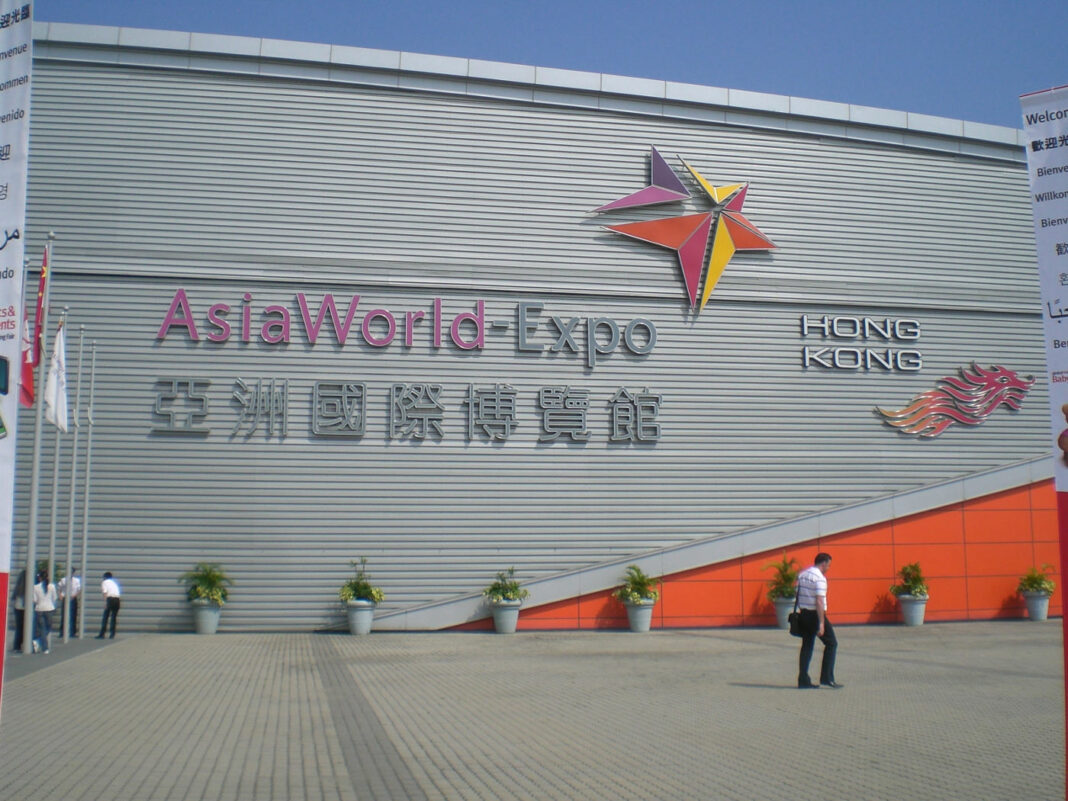 AsiaWorld-Expo opened in December 2005