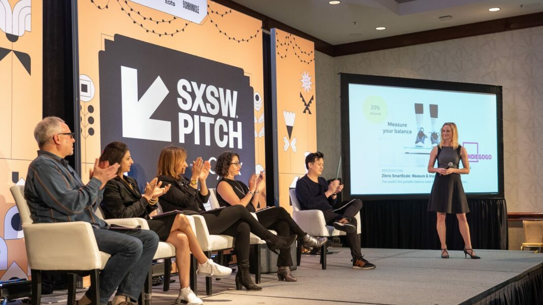 SXSW Pitch presented by Cyndx in 2019