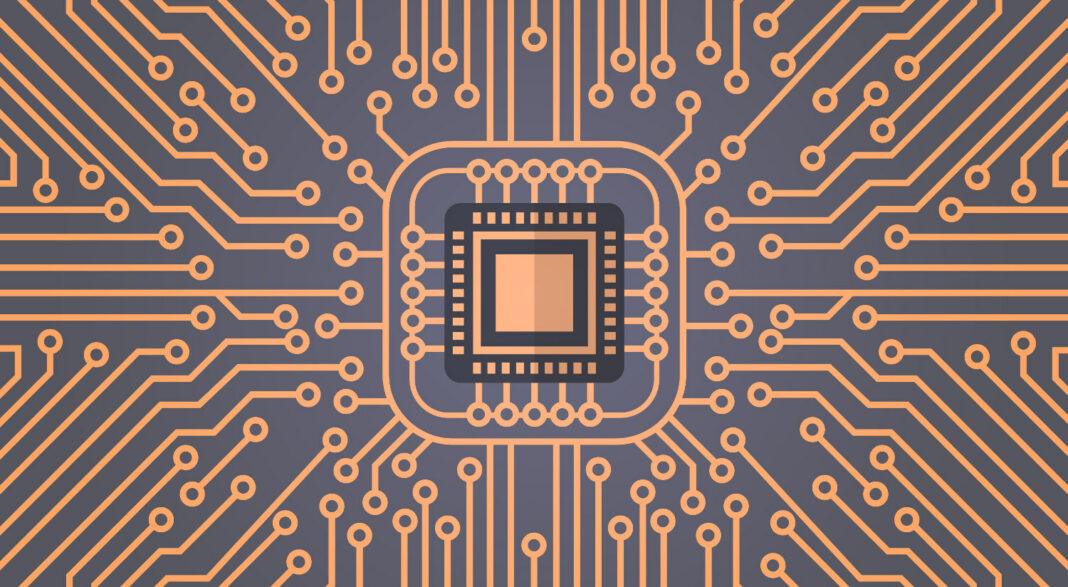 Computer chipset concept
