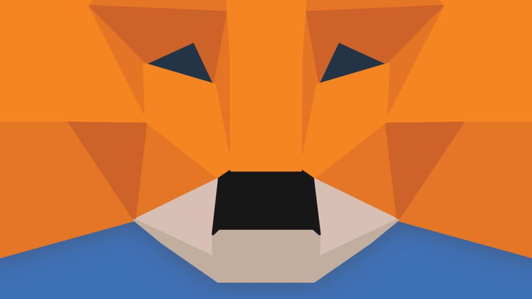 MetaMask logo illustration