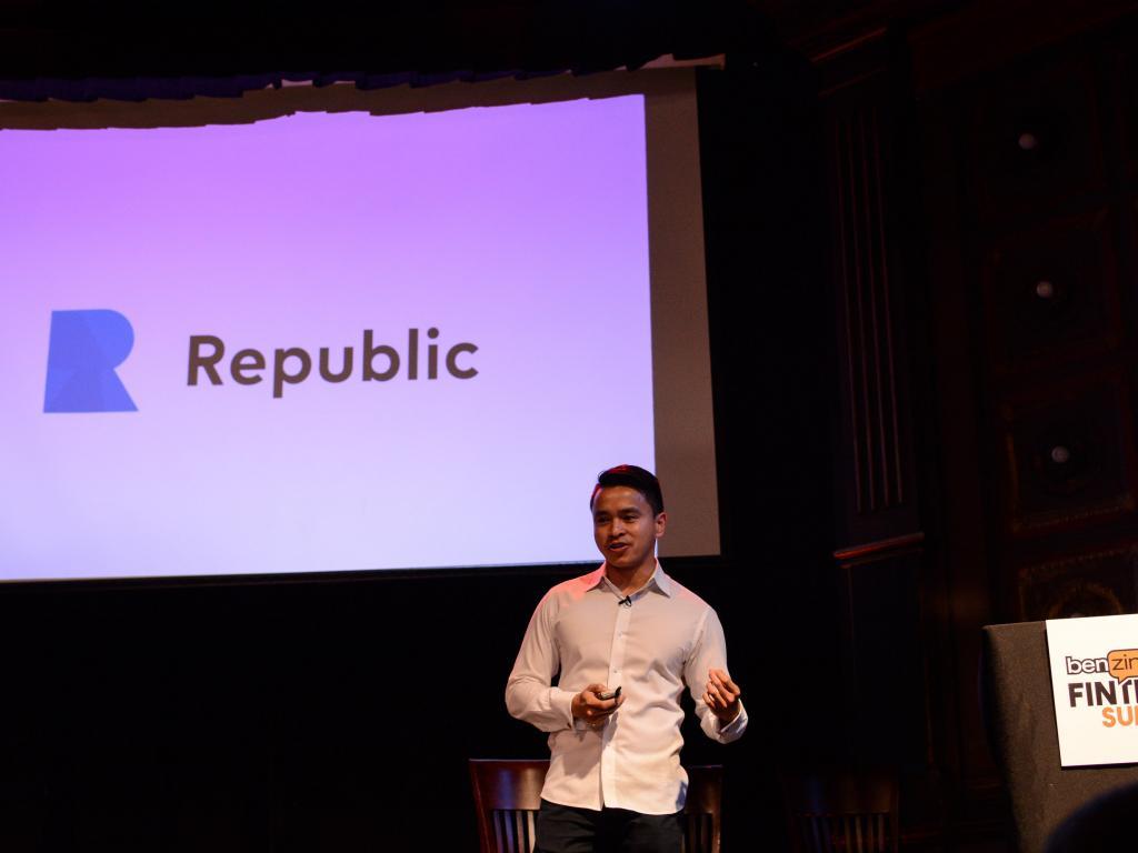Republic CEO Kendrick Nguyen