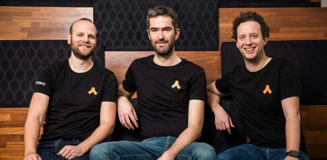 From left: Argent CTO Gerald Goldstein, CSO Julien Nisen, and CEO Itamar Lesuisse