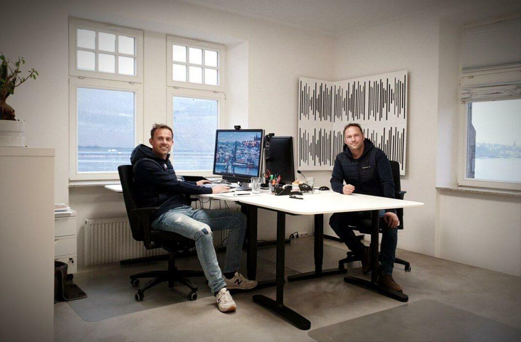 Unibright CEO Marten Jung (left) and Unibright CTO Stefan Schmidt