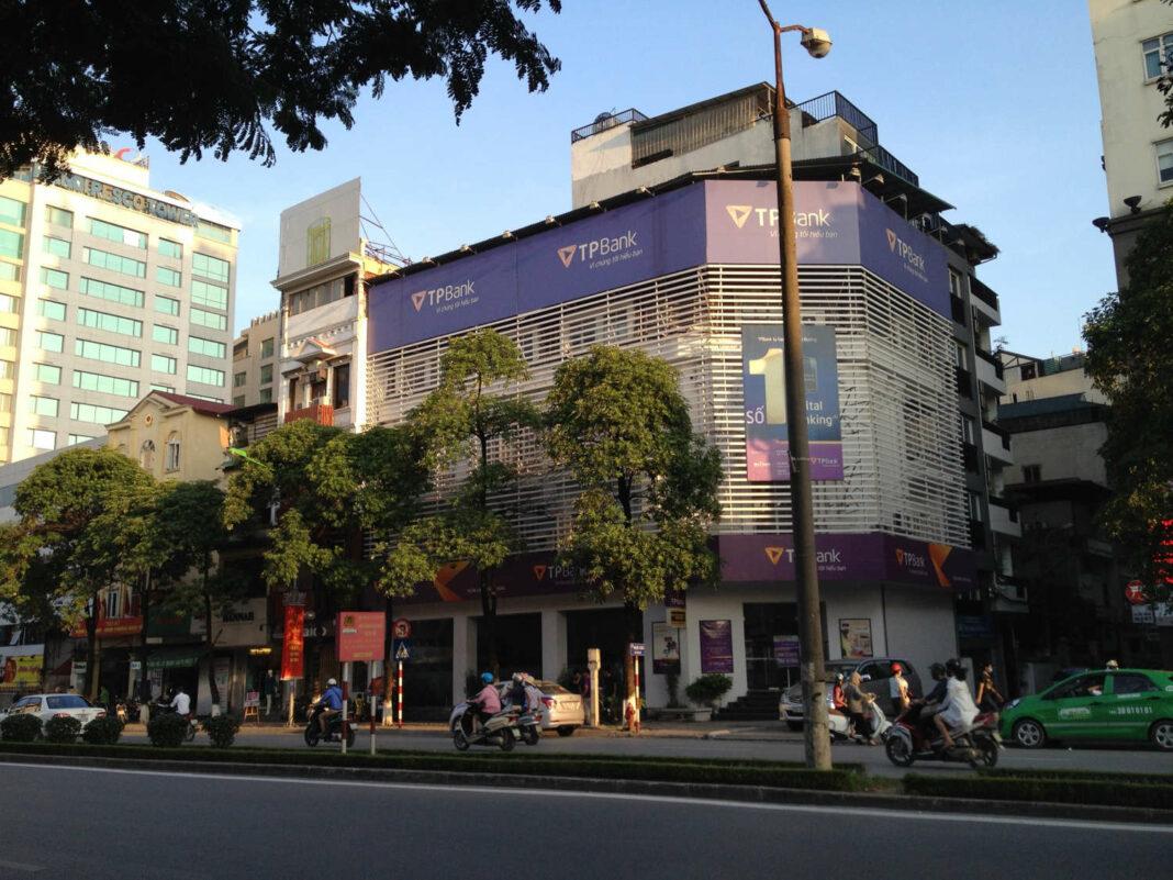 TPBank building on Kim Ma Street in Hanoi, Vietnam