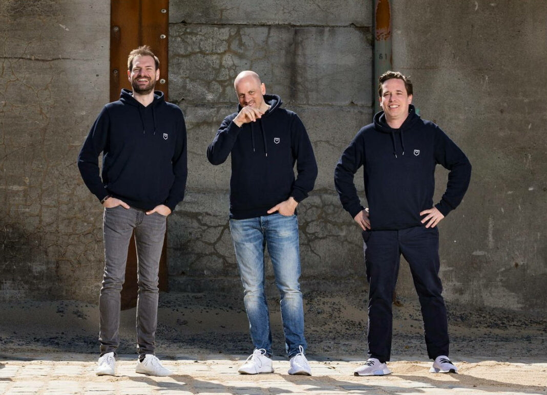 From left: Gapless CFO Malte Hausler, CTO Andreas Joebges, and CEO Jan Karnath