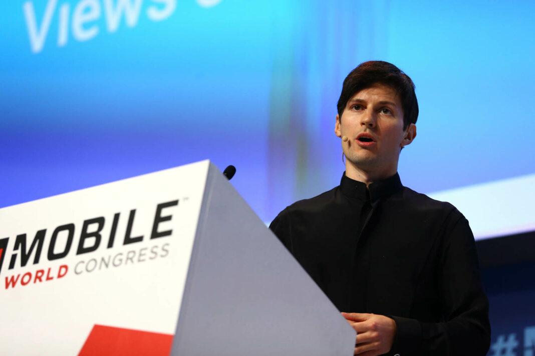 Telegram founder and CEO Pavel Durov