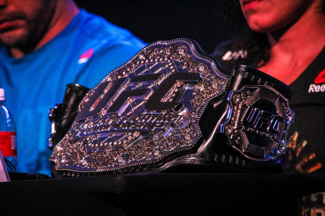Belt of UFC (Ultimate Fight Championship)