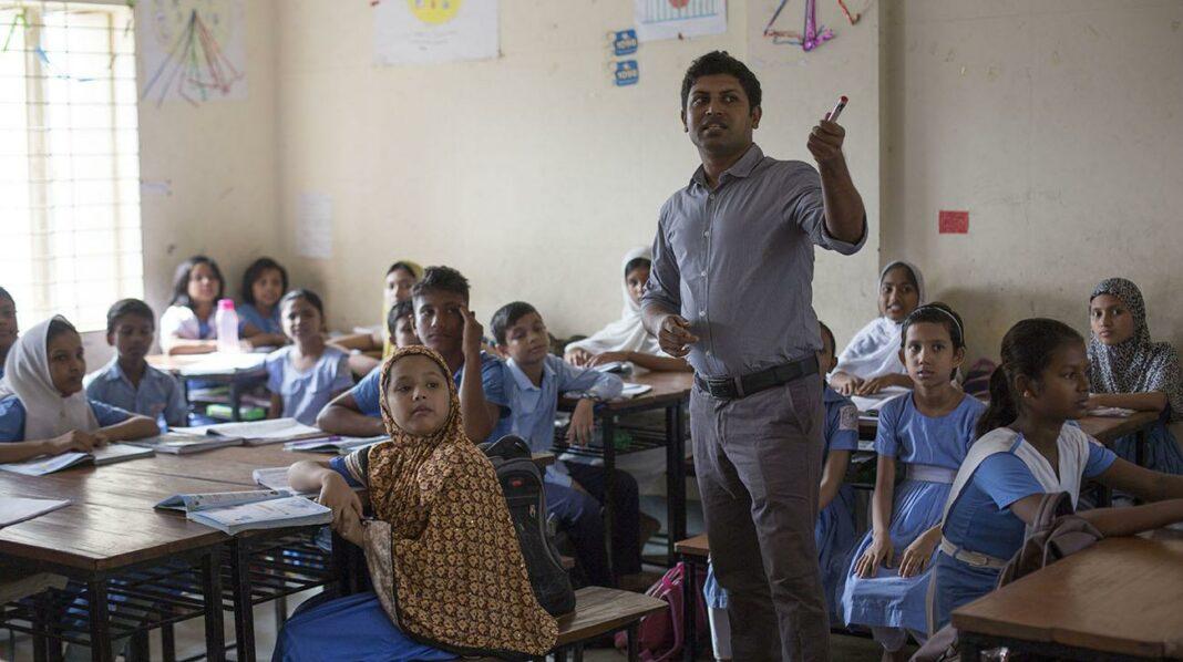 Classroom in Bangladesh