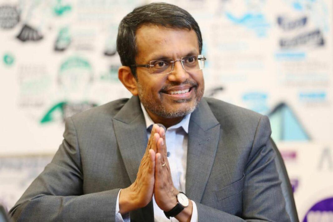 Head of the Monetary Authority of Singapore Ravi Menon