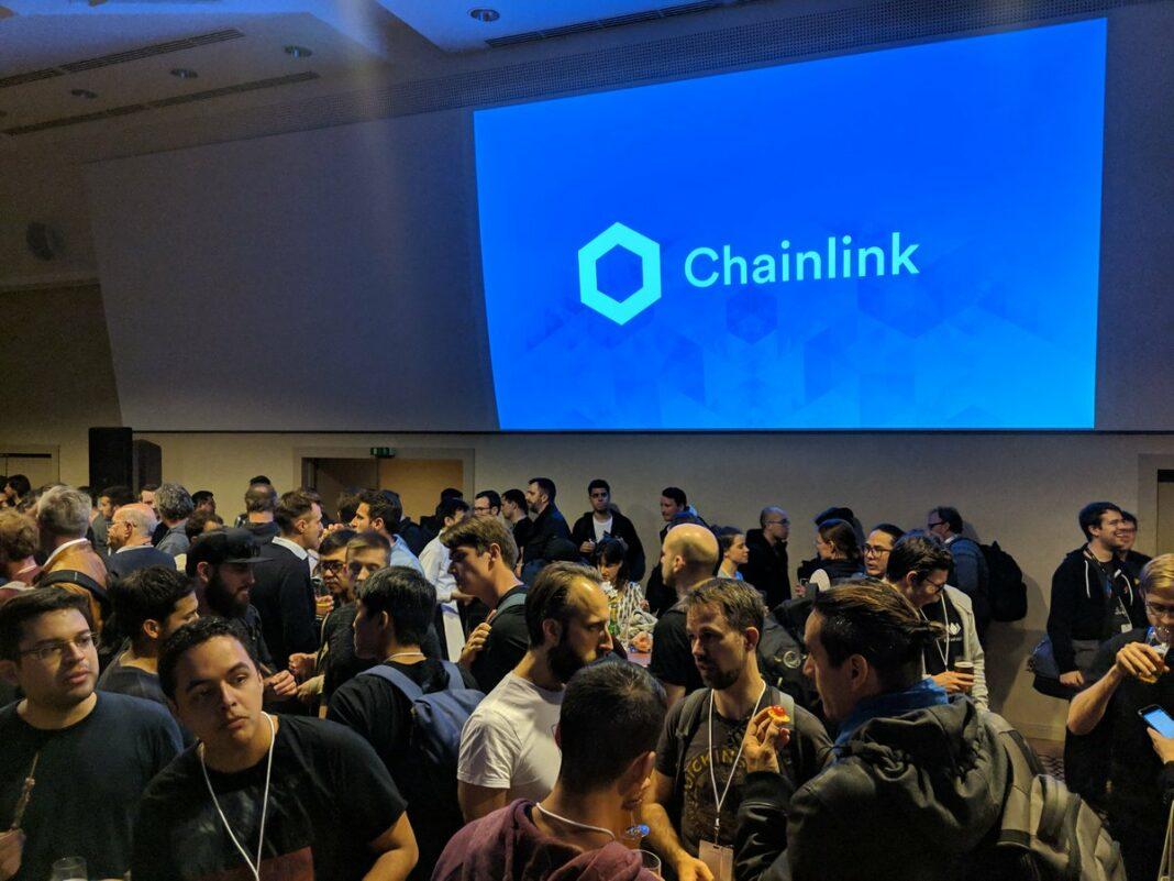 Chainlink meetup in the Corinthia hotel