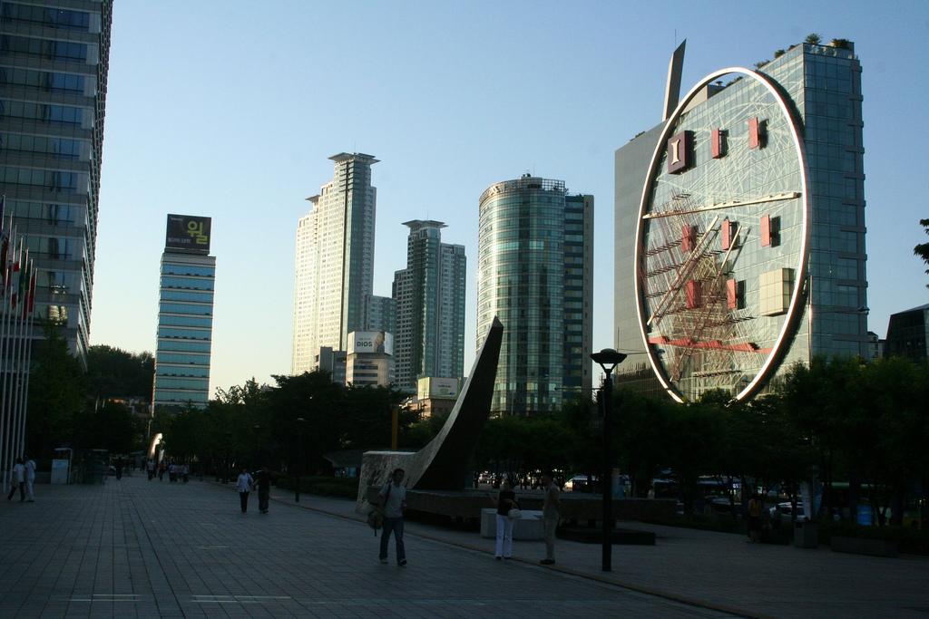 Gangnam-gu (Gangnam district) in Seoul, South Korea