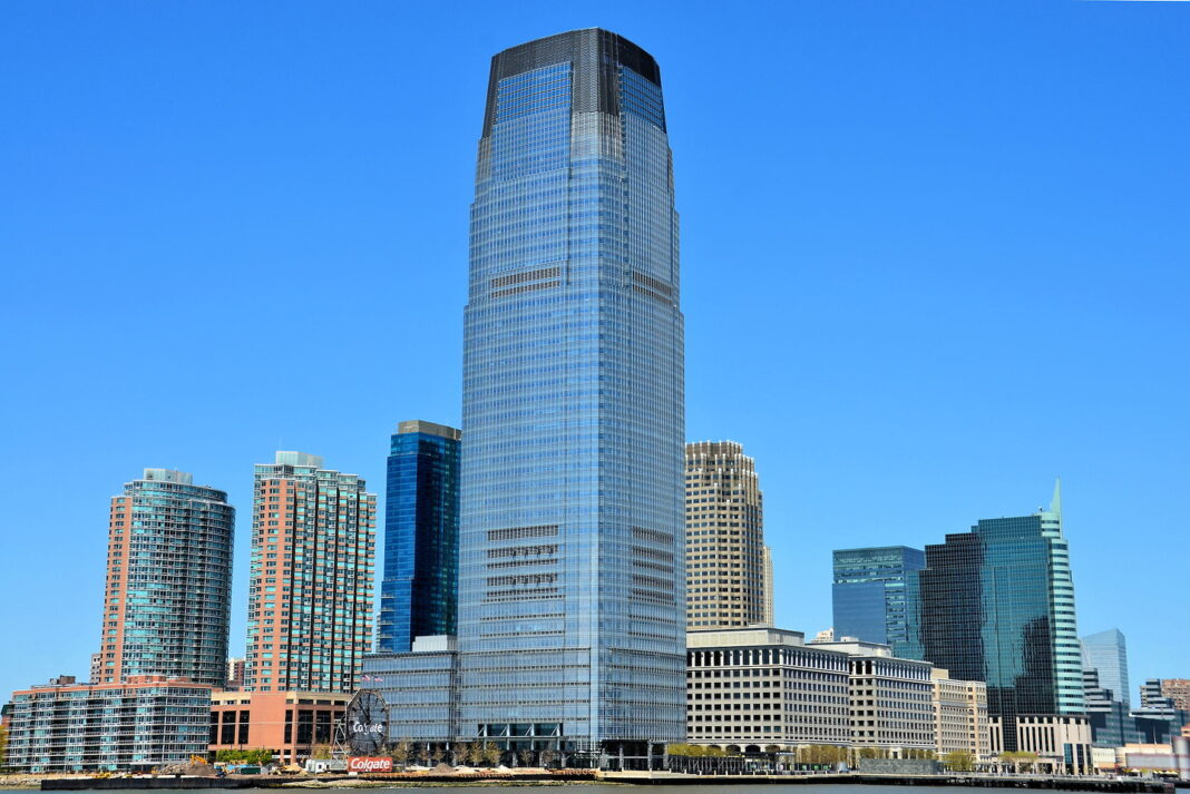 Goldman Sachs Tower in Jersey City, New Jersey