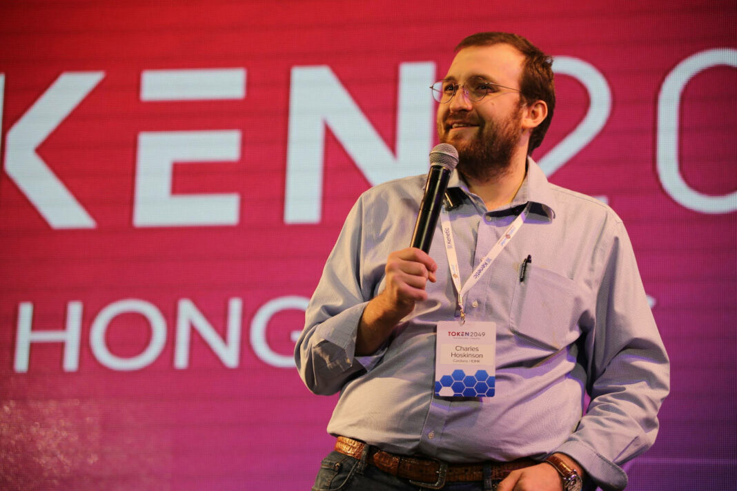 Cardano founder and CEO Charles Hoskinson