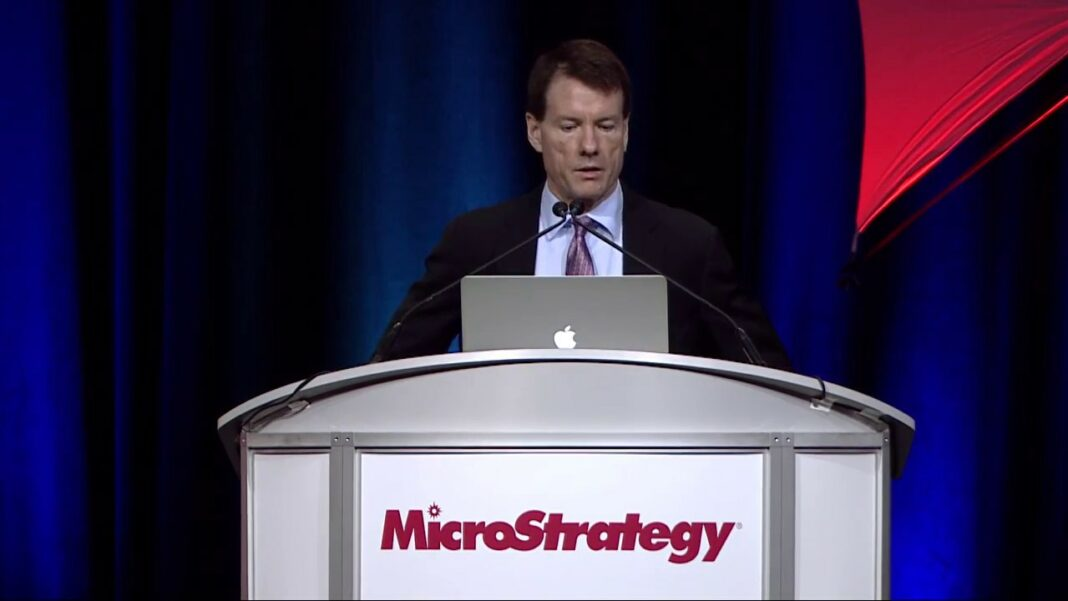 Michael J. Saylor, Founder and Chairman of MicroStrategy, speaks at MicroStrategy World 2017