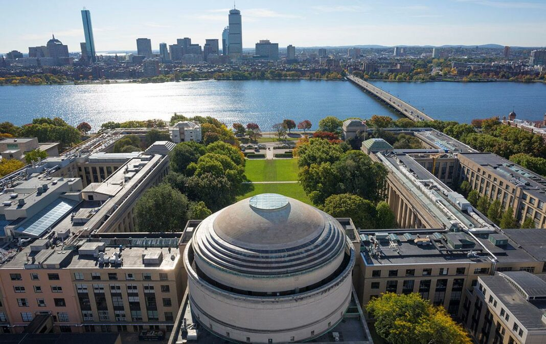 View of the Massachusetts Institute of Technology