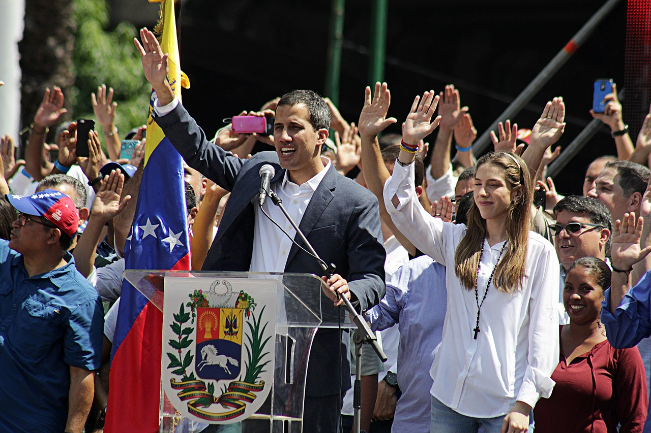 Protest march against Venezuela President Maduro