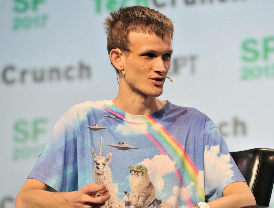 Ethereum founder and inventor Vitalik Buterin