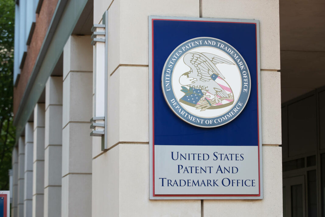 The United States Patent and Trademark Office in Alexandria