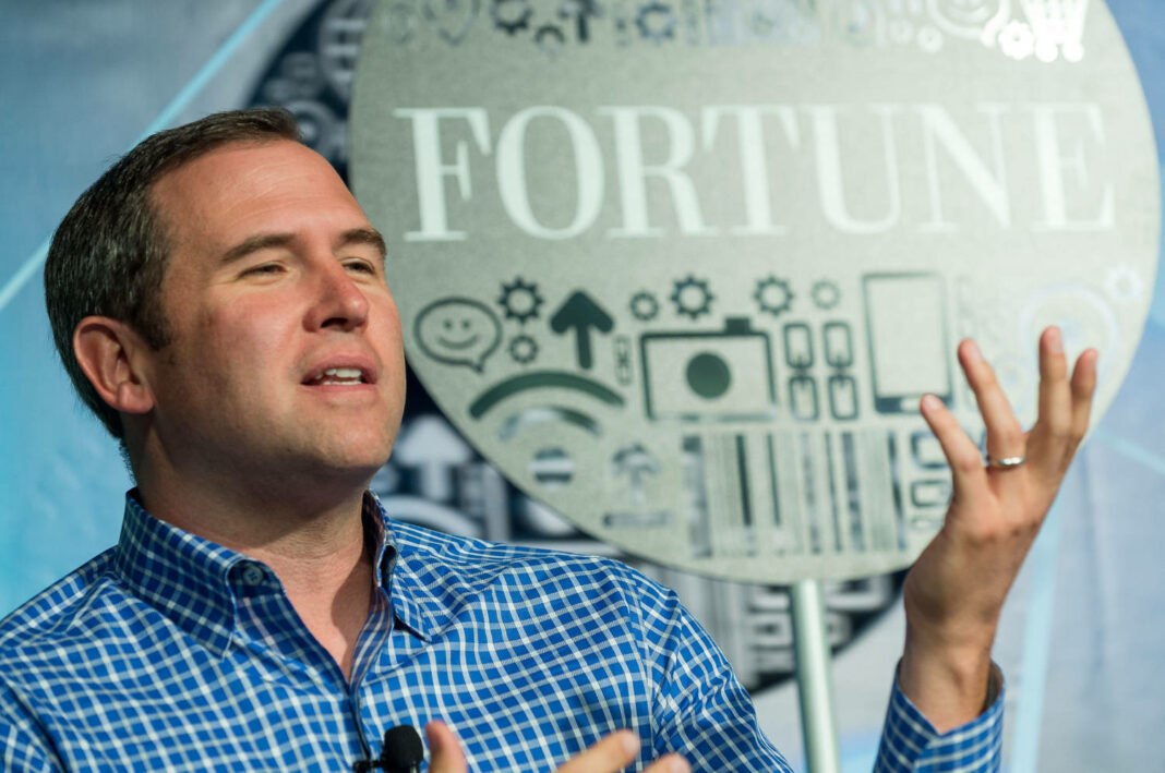 Brad Garlinghouse, CEO of Ripple, speaking at Fortune Brainstorm TECH 2013