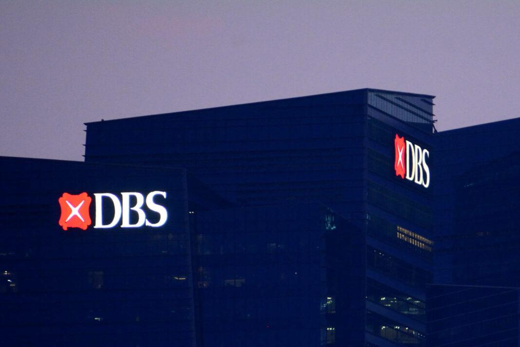 DBS Bank headquarters in Marina Bay Financial Centre