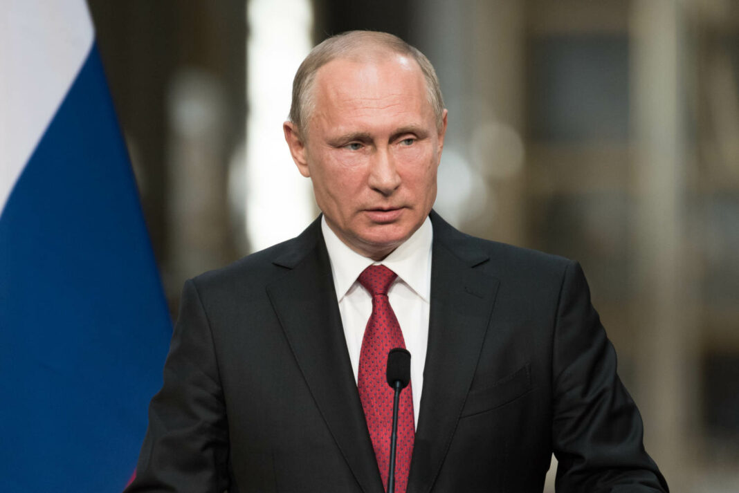 Vladimir Putin, the President of Russia