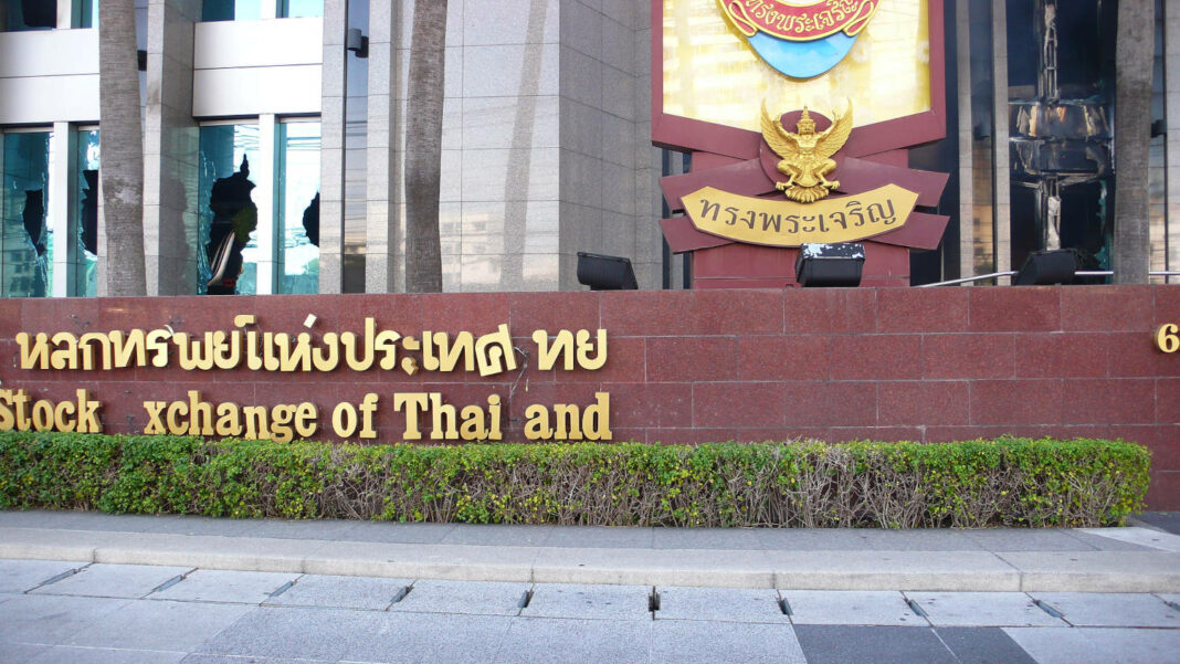 The Stock Exchange of Thailand in Bangkok, Thailand