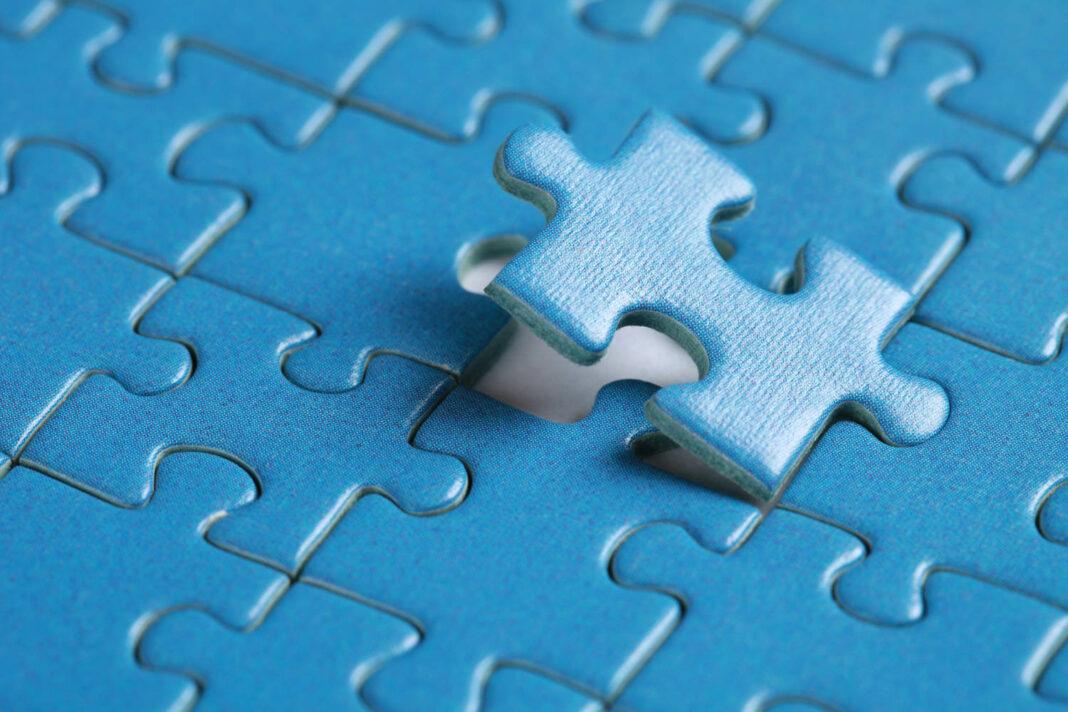 Final jigsaw puzzle piece