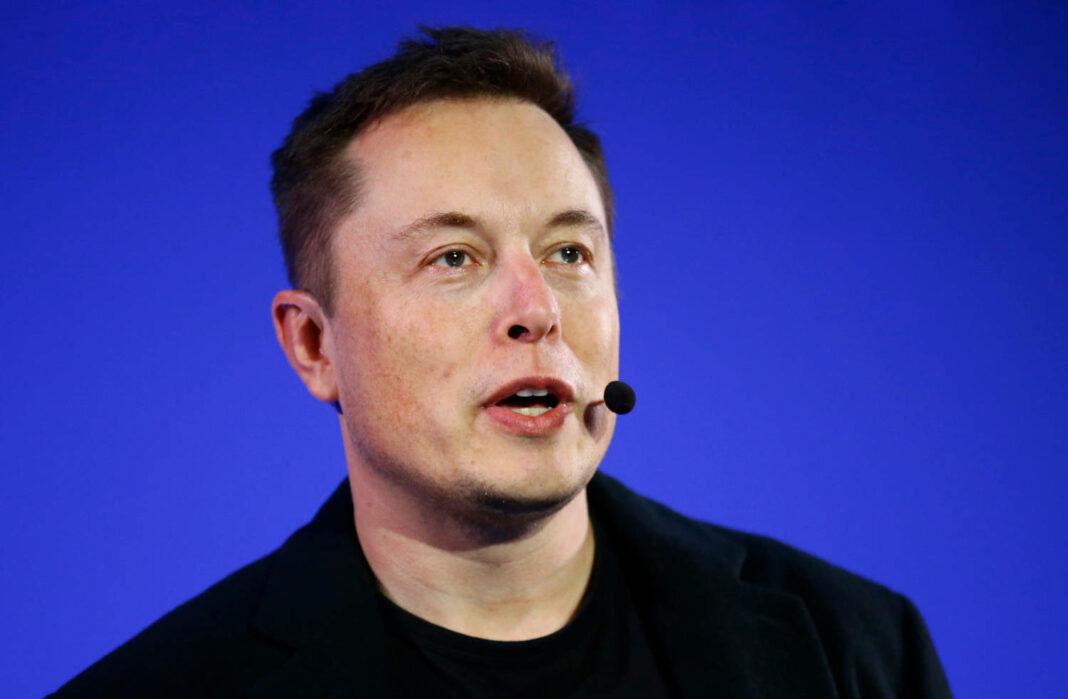 Tesla CEO Elon Musk in California City
