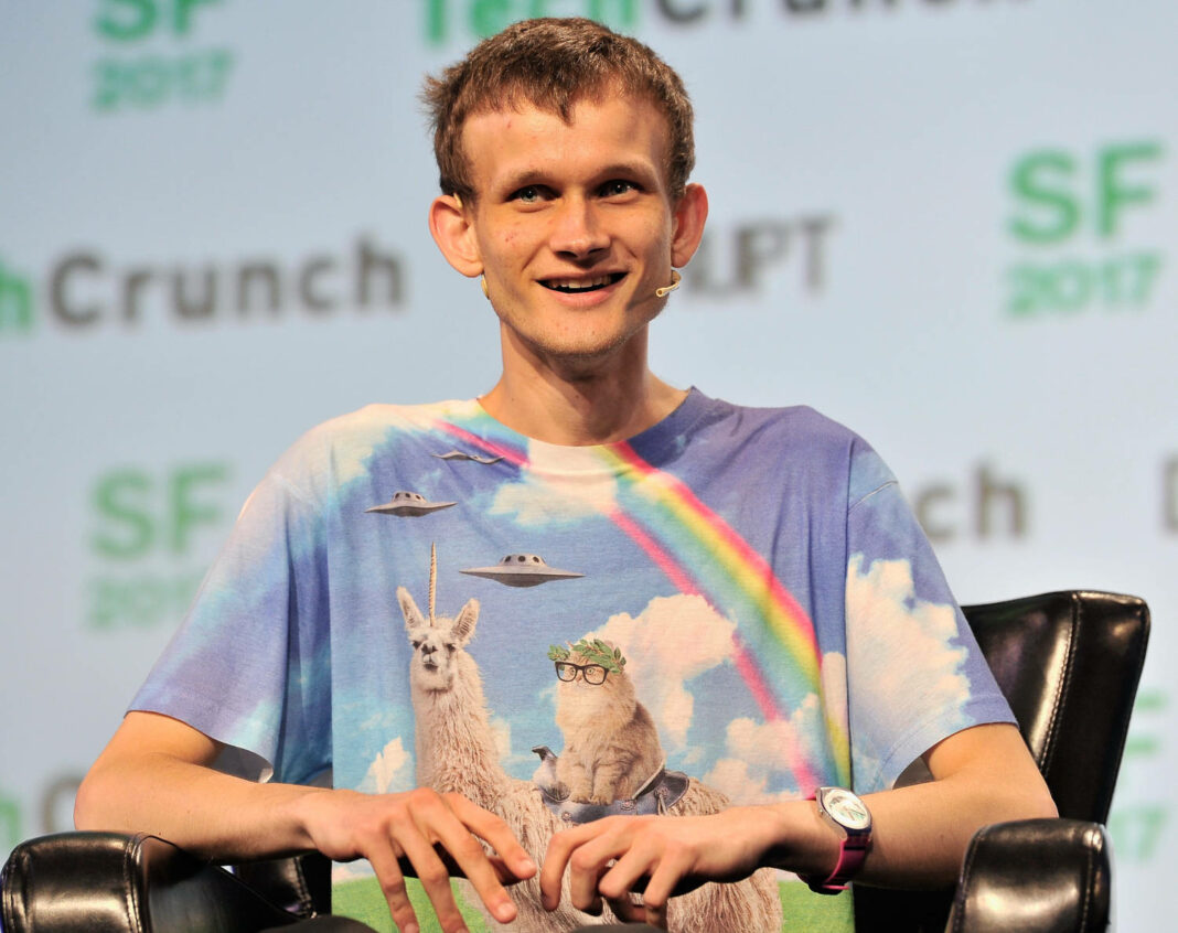 Ethereum Founder and Inventor Vitalik Buterin