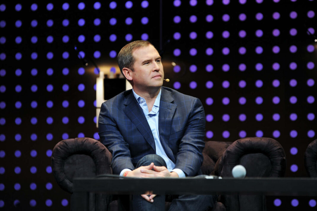 Ripple CEO Brad Garlinghouse at the LeWeb12 Conference in Paris
