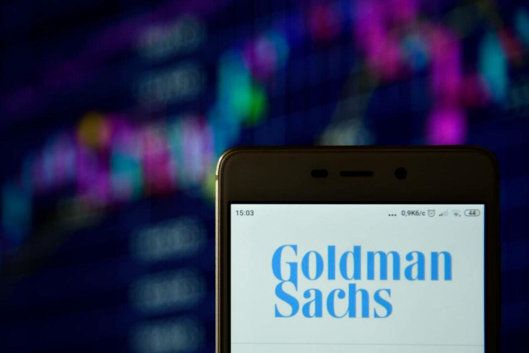 Goldman Sachs app on mobile phone