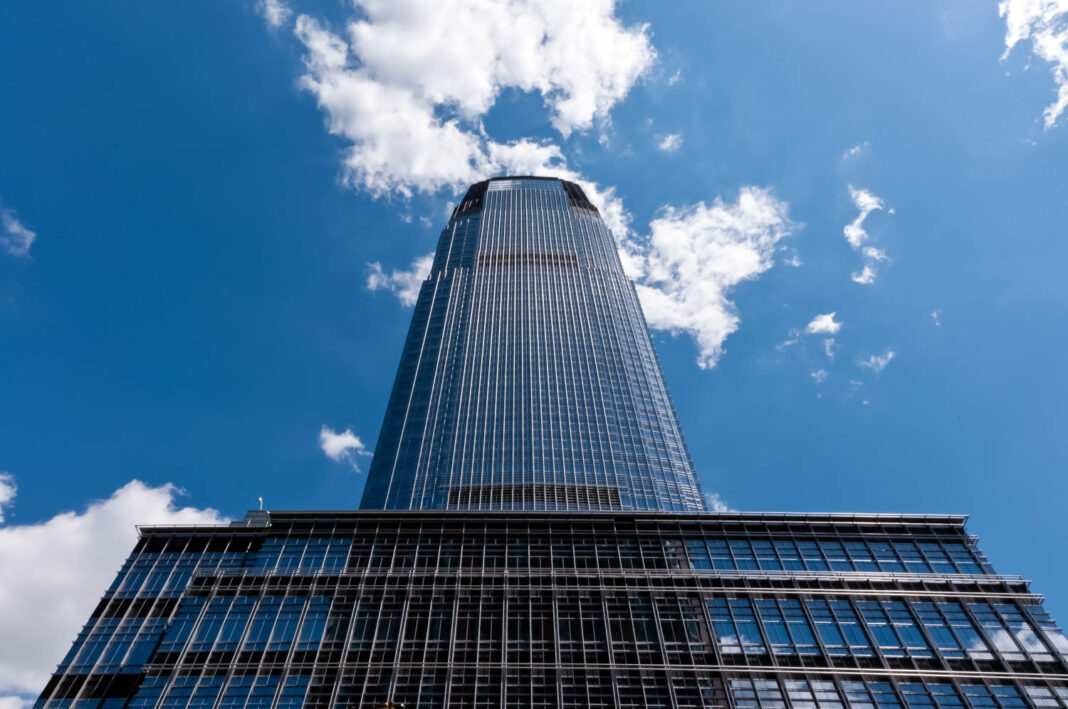 Goldman Sachs Tower, tallest building in New Jersey