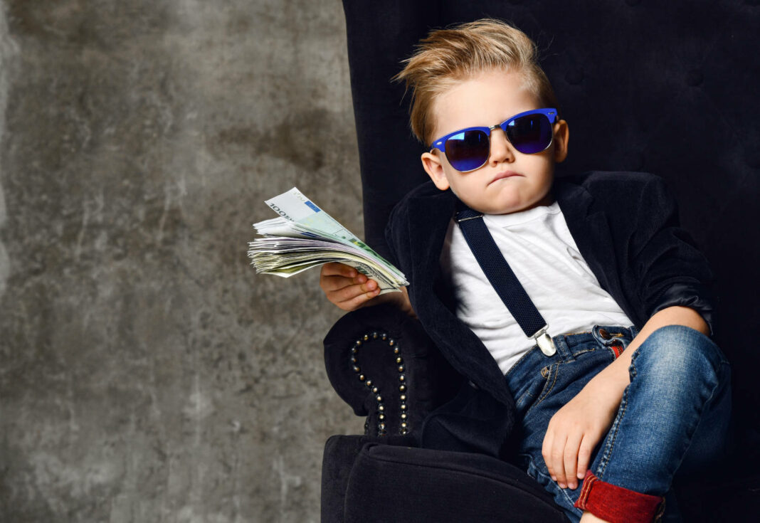 Cool kid with money