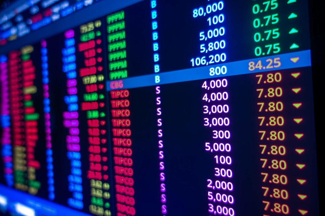 Stock market terminal