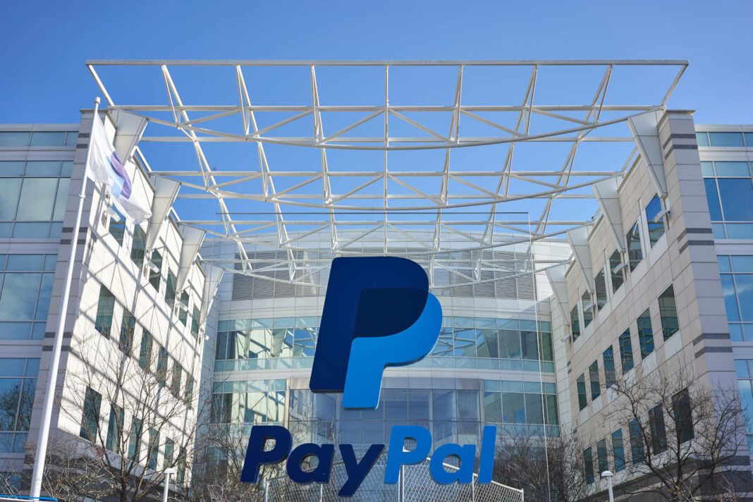 PayPal headquarters in San Jose, CA, USA, 12 February 2020