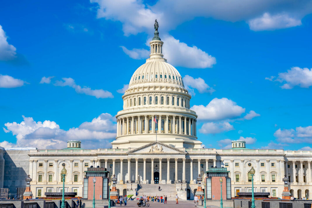 The United States Capitol is the home of the United States Congress and the seat of the legislative branch of the U.S. federal government