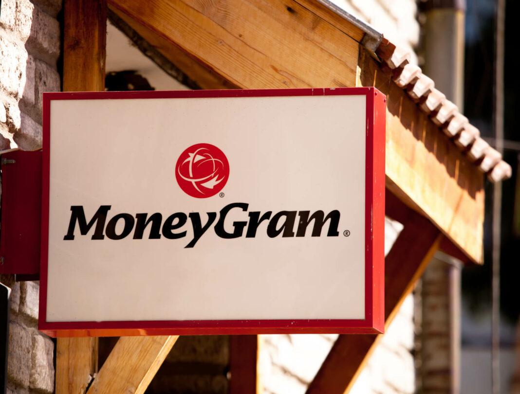 MoneyGram sign in Bansko, Bulgaria