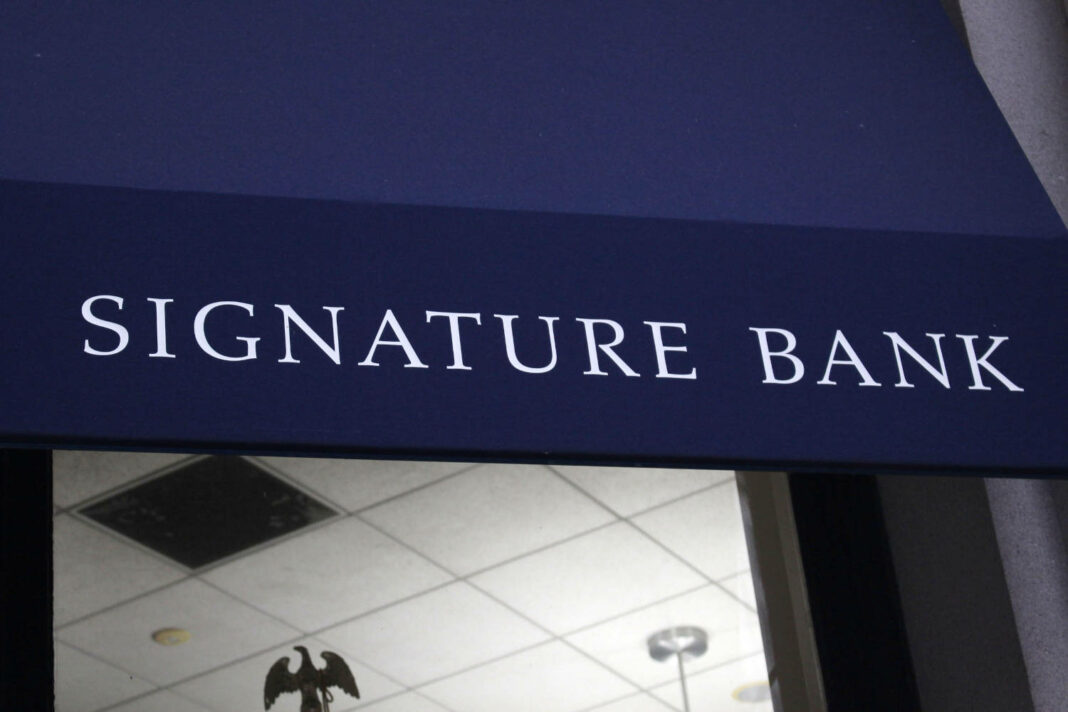 Signature Bank in New York City