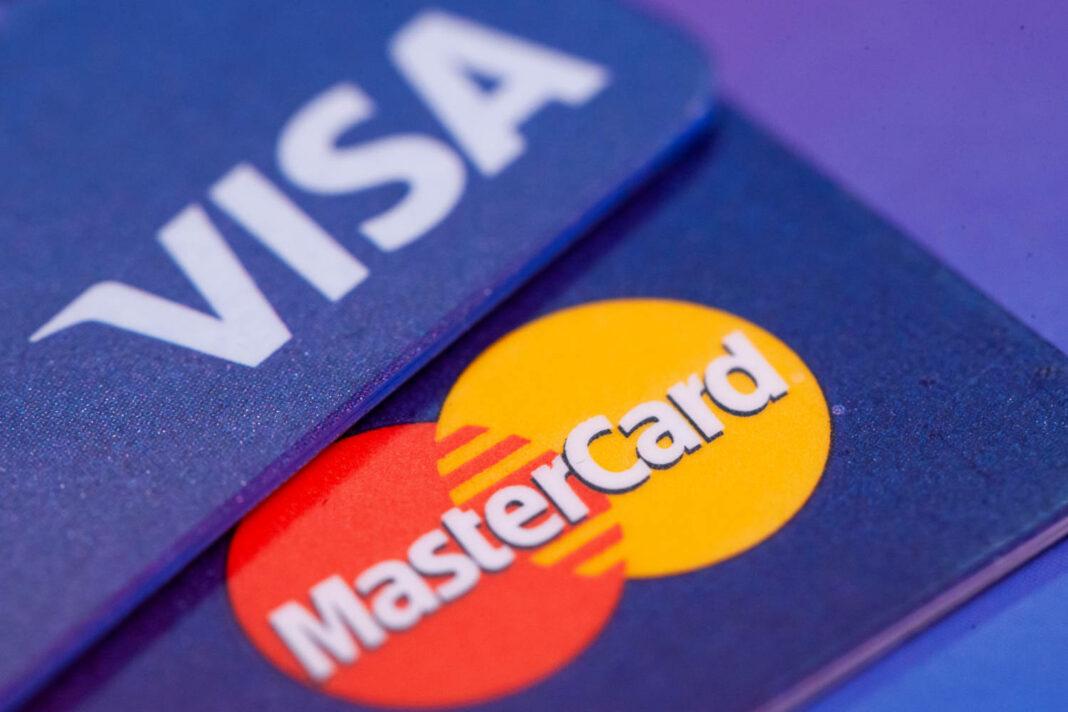 Visa and MasterCard cards