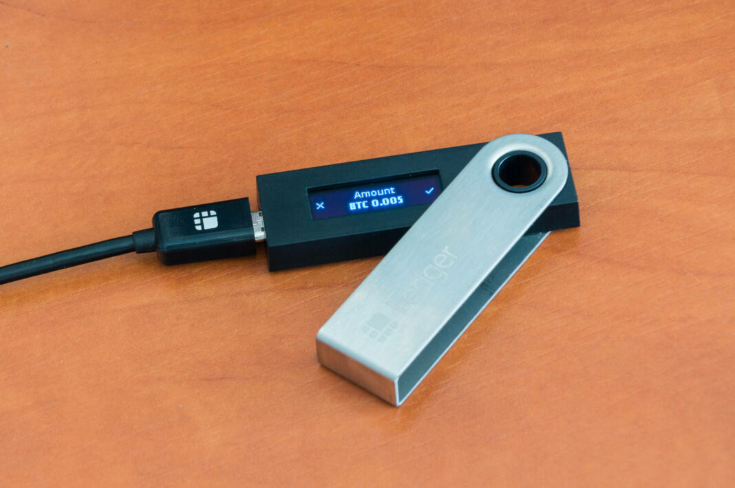Ledger hardware wallet