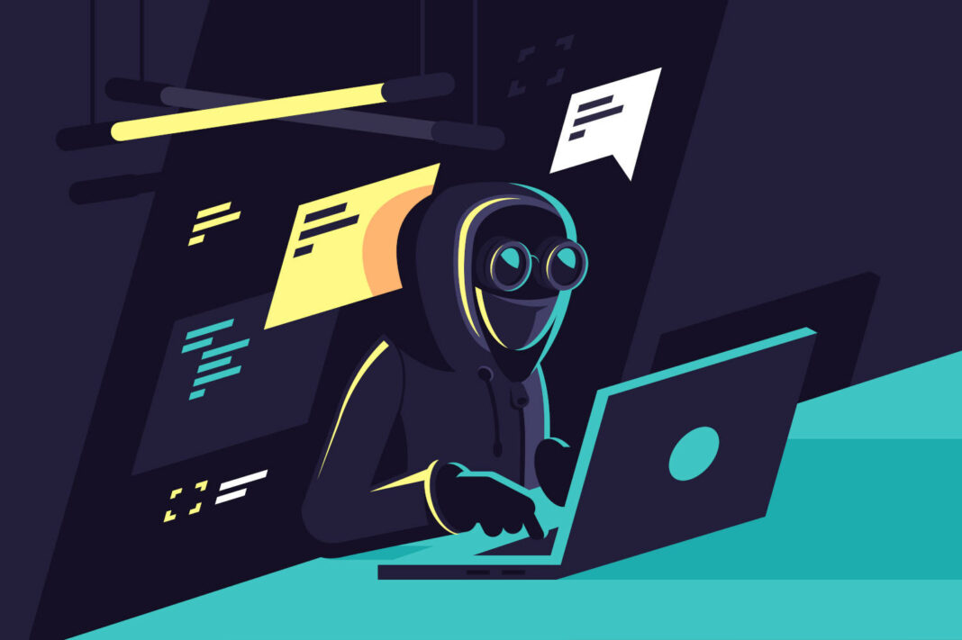 Hacker illustration